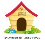 Illustration Of Dog Kennel ...