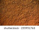 red soil  dirt  on earth.