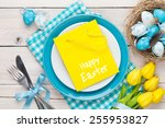 Easter With Yellow Tulips ...