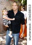 larry birkhead and daughter... | Shutterstock . vector #256038013