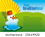 end of winter | Shutterstock .eps vector #25619920