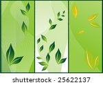 abstract background with floral ... | Shutterstock .eps vector #25622137