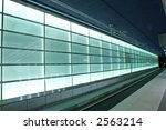 subway lights on the train... | Shutterstock . vector #2563214