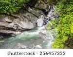 nature near banos de agua santa ...   Shutterstock . vector #256457323