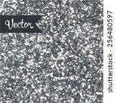 silver glitter texture | Shutterstock .eps vector #256480597