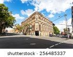 Vintage Building And Skyline I...