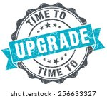 time to upgrade vintage... | Shutterstock . vector #256633327