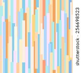 abstract color stripes seamless ... | Shutterstock .eps vector #256698523