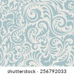 vector seamless abstract... | Shutterstock .eps vector #256792033