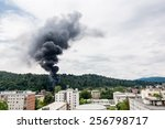 Smoke Rising Near Residential...