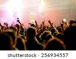 barcelona   jan 29  people in a ...   Shutterstock . vector #256934557