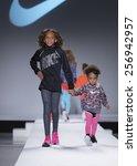 new york  ny   february 12 2015 ...   Shutterstock . vector #256942957