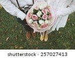 vintage filter film tone style... | Shutterstock . vector #257027413