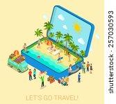 Summertime Travel Beach...
