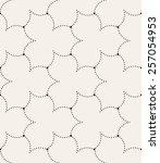vector seamless pattern. modern ... | Shutterstock .eps vector #257054953