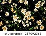 classic wallpaper seamless...   Shutterstock . vector #257092363
