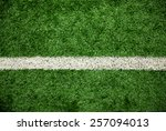 green grass field  soccer field | Shutterstock . vector #257094013