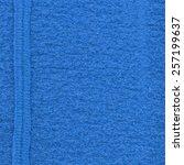 blue  fabric texture  seam | Shutterstock . vector #257199637
