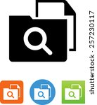 case study icon | Shutterstock .eps vector #257230117