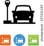Parking Meter Symbol. Vector...