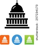 Capital Building. Vector Icons...