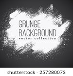 set of  ink vector stains | Shutterstock .eps vector #257280073