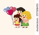 family theme elements | Shutterstock .eps vector #257308453