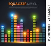 Colorful Equalizer. Vector...