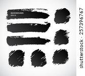 abstract watercolor design...   Shutterstock .eps vector #257396767