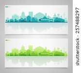 vector horizontal banners of...