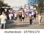 blurred background. people... | Shutterstock . vector #257501173