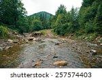 broken bridge | Shutterstock . vector #257574403