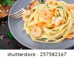 Tagliatelle With Shrimps And...