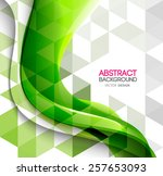 vector abstract background... | Shutterstock .eps vector #257653093