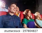 cinema  entertainment and... | Shutterstock . vector #257804827