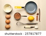 Food Ingredients And Kitchen...