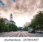 Pennsylvania Avenue Sunset In...
