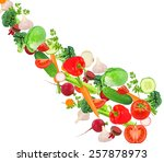 vegetables  | Shutterstock . vector #257878973