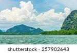 Phang Nga Bay And Mountain Vie...