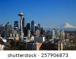 Downtown Seattle  Wa  Usa   Fe...