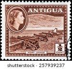 Antigua   Circa 1956  A Stamp...