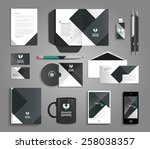 vector grapchic professional... | Shutterstock .eps vector #258038357