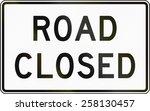 United States Traffic Sign ...