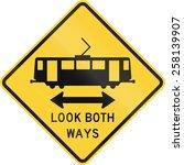 Us Warning Traffic Sign  Light...