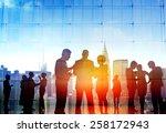 business people corporate... | Shutterstock . vector #258172943