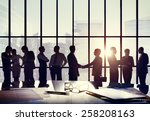 business people connection