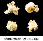 Popcorn Whit Butter On Black...