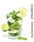 Mojito Cocktail Isolated On A...