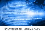 hi tech technological... | Shutterstock . vector #258267197