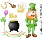 st. patrick elements | Shutterstock . vector #258299483